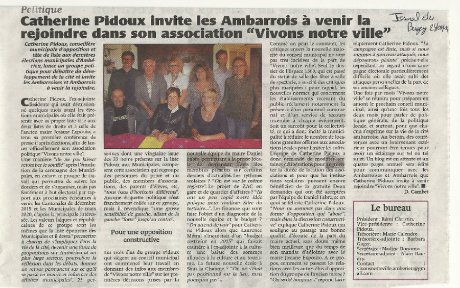 Journal du Bugey 24 juillet 2014 3jpg